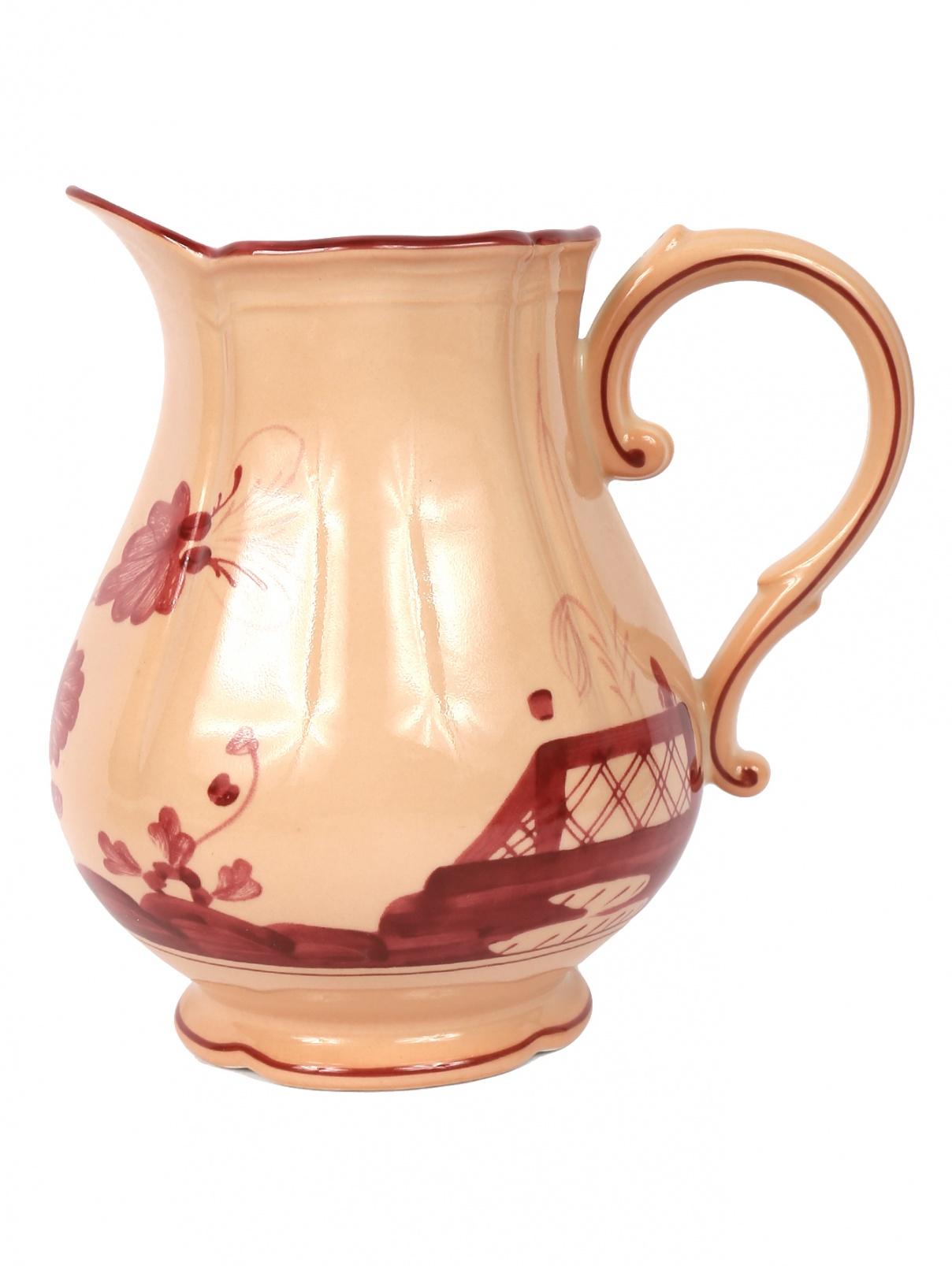 Молочник с узором Richard Ginori 1735  –  Общий вид