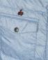 Пуховик на кнопках с узором под деним Bosco Fresh  –  Деталь