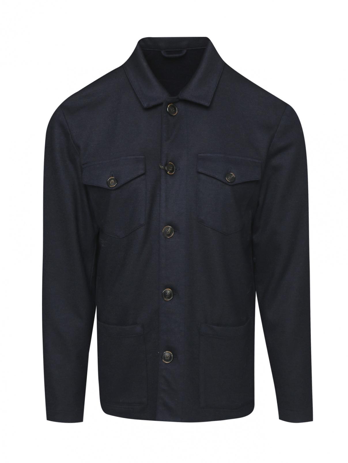 Куртка из шерсти на пуговицах Altea  –  Общий вид
