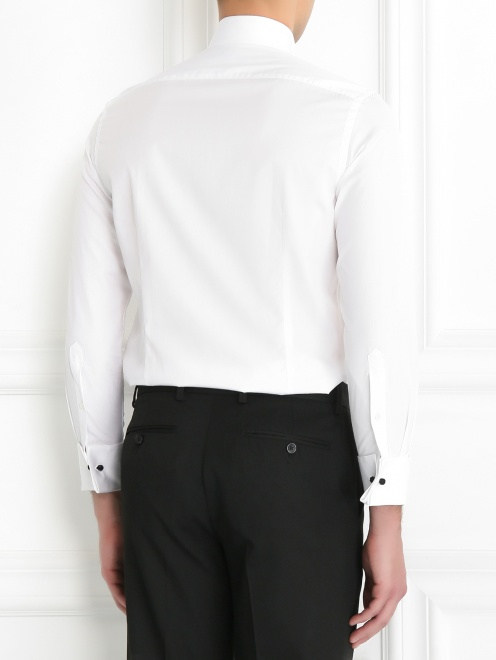 Рубашка из льна - МодельВерхНиз1