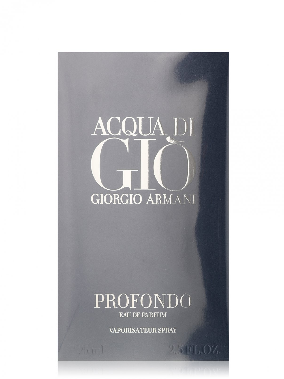 Парфюмерная вода Acqua di Gio Profondo, 75 мл Giorgio Armani  –  Общий вид