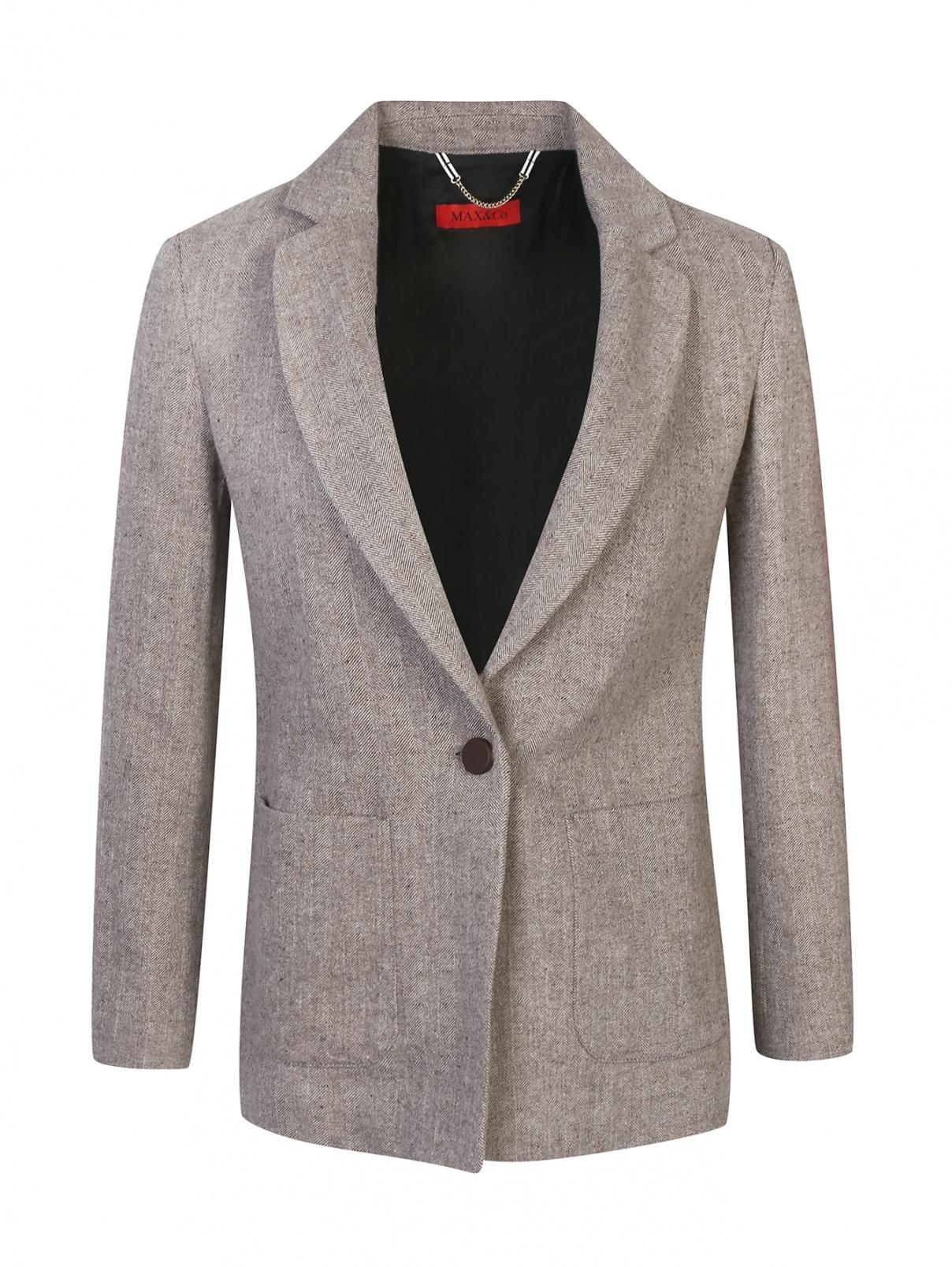 Жакет из смесовой шерсти Max&Co  –  Общий вид