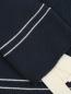 Джемпер из хлопка в полоску декорированный бантами Max&Co  –  Деталь1