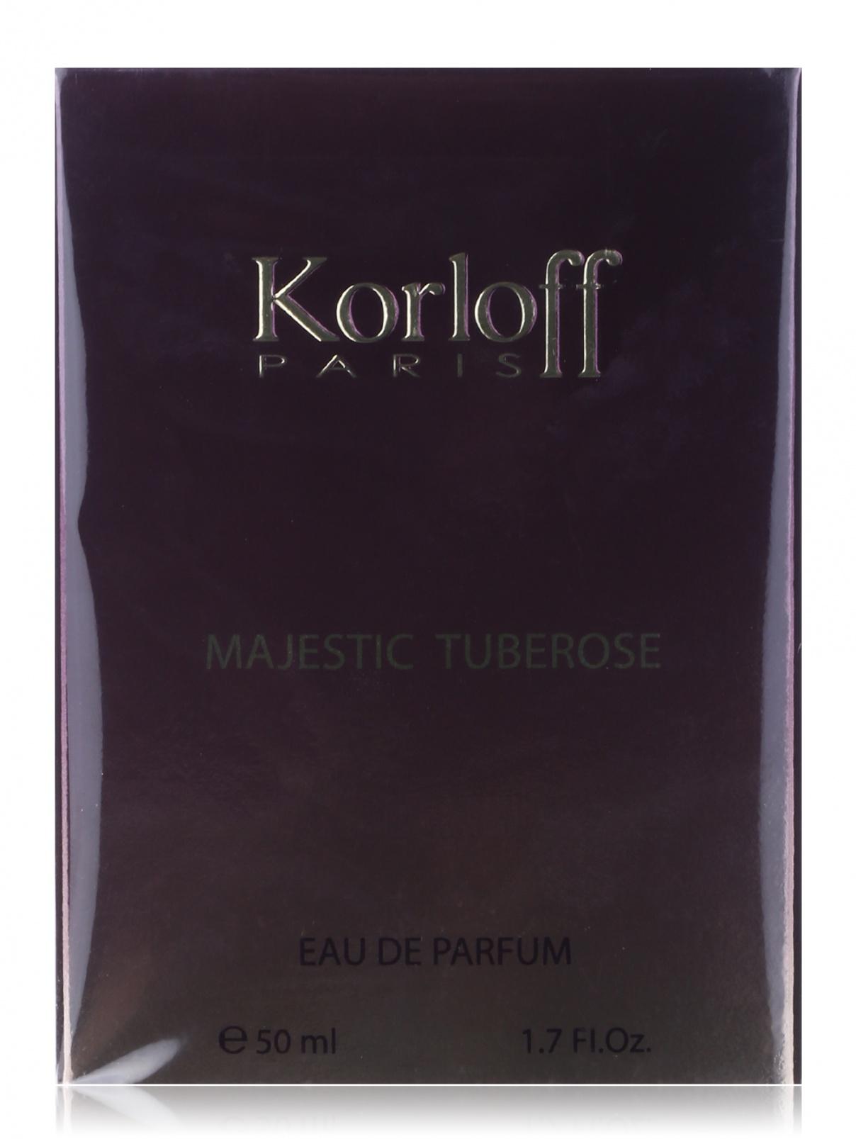 Туалетная вода - Majestic Tuberrose, 50ml Korloff  –  Модель Общий вид