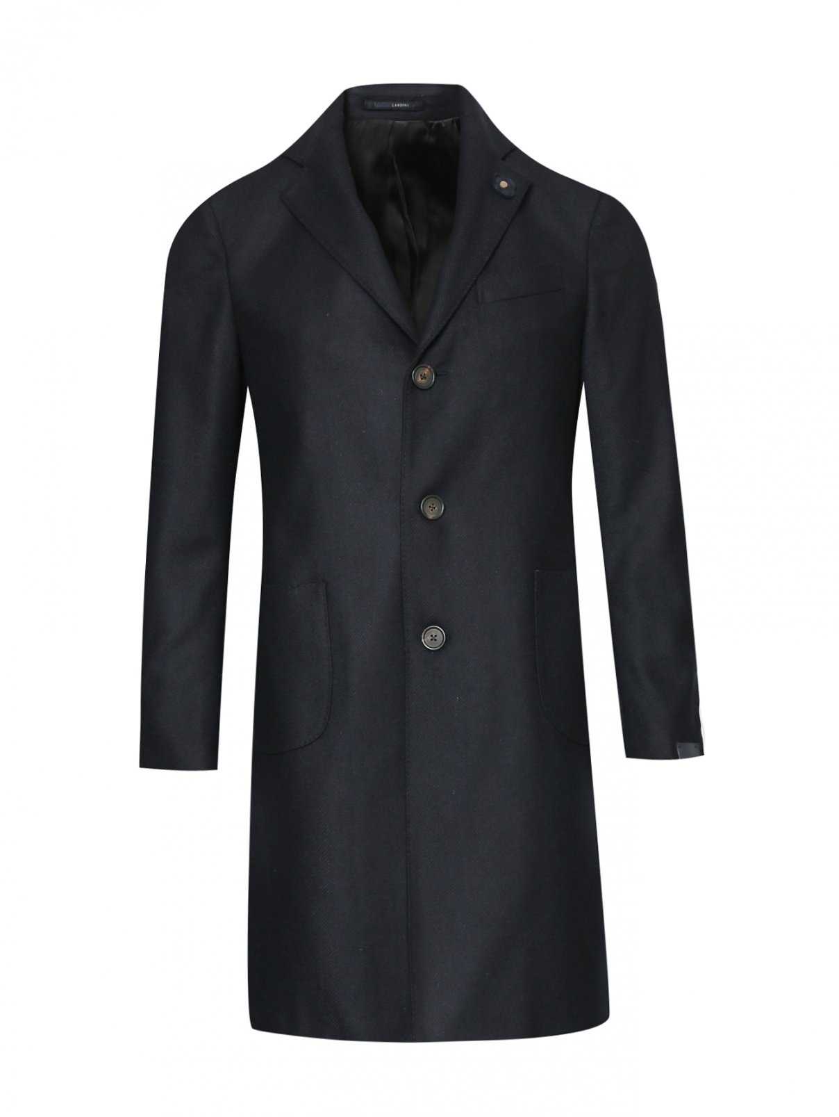 Пальто из шерсти LARDINI  –  Общий вид