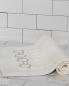 Коврик LINKS EMBROIDERY для ванной комнаты 54х87 см состав: 100% хлопок Frette  –  Общий вид