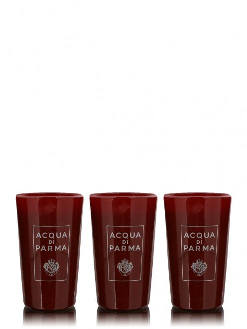 Набор свечей в стекле 3х65 г Xmas '17 Home Fragrance Acqua di Parma - Общий вид
