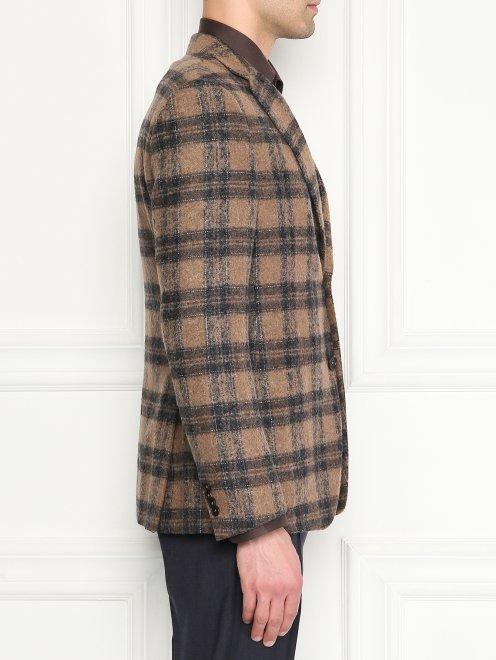 Пиджак из мягкой шерсти - МодельВерхНиз2