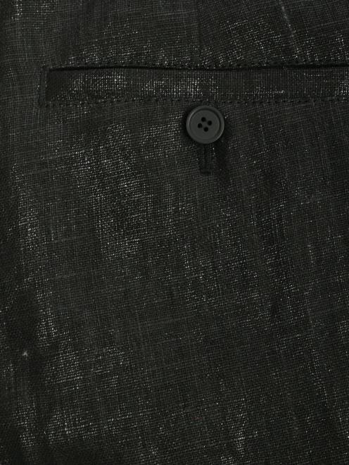 Брюки из льна - Деталь