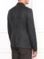 Однобортный пиджак из шерсти Emporio Armani  –  Модель Верх-Низ1