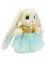 """Коллекционная игрушка """"Зайка Пиглет""""-принцесса цветов Piglette  –  Общий вид"""
