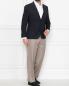 Классические брюки из шерсти Corneliani  –  МодельОбщийВид