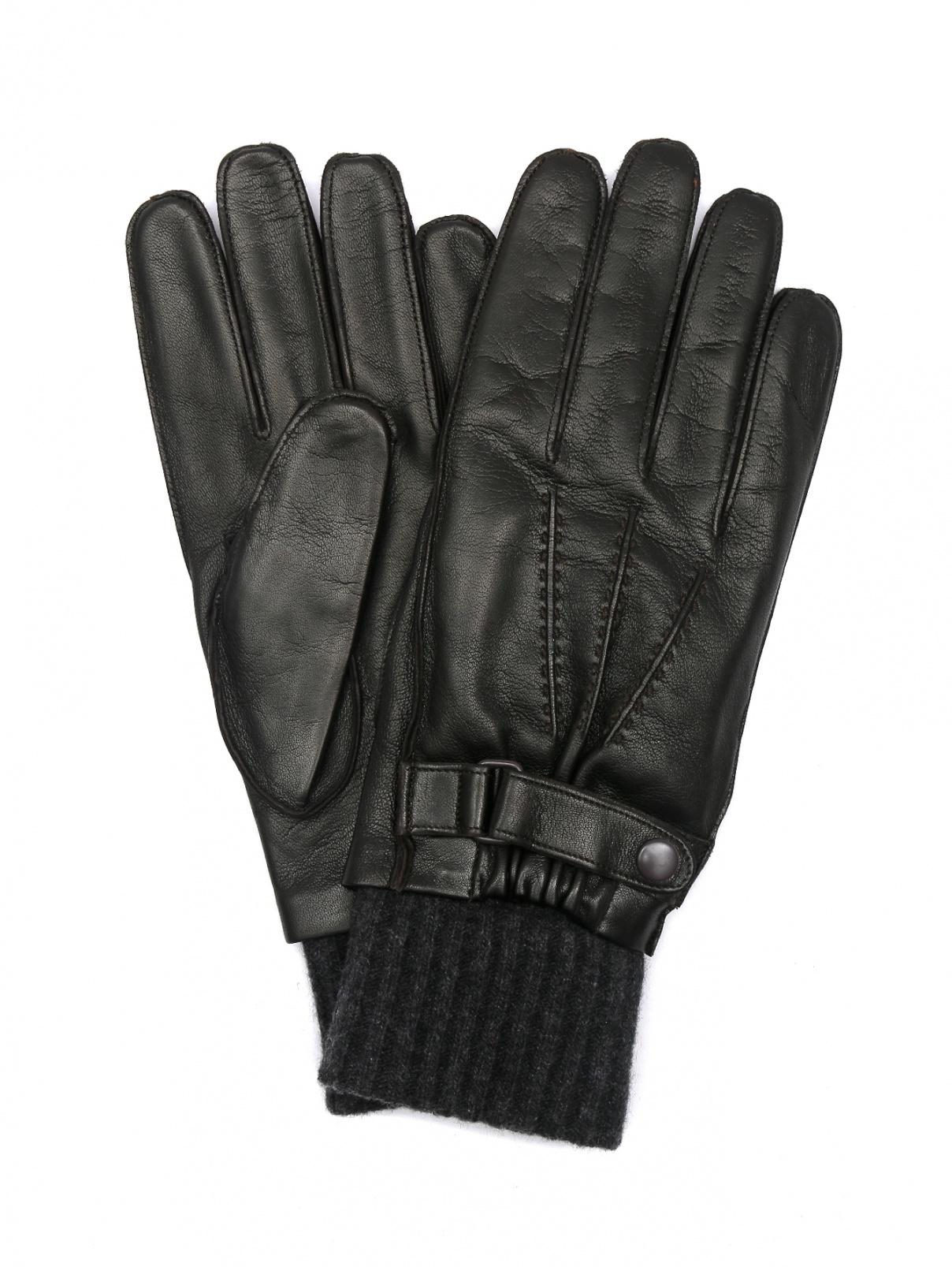 Перчатки из кожи с подкладкой из кашемира Portolano  –  Общий вид