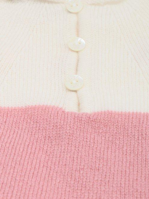 Подарочный набор из кашемира с вышивкой Tomax - Деталь1