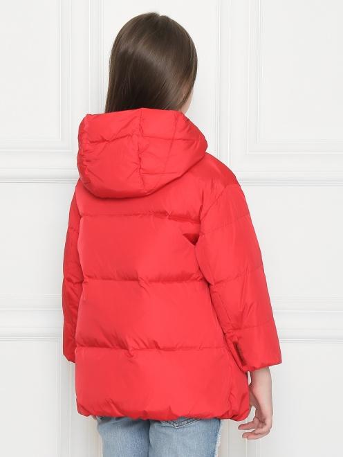 Куртка стеганая с капюшоном  - МодельВерхНиз1