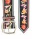 Ремень из кожи с цветочным узором Etro  –  Деталь