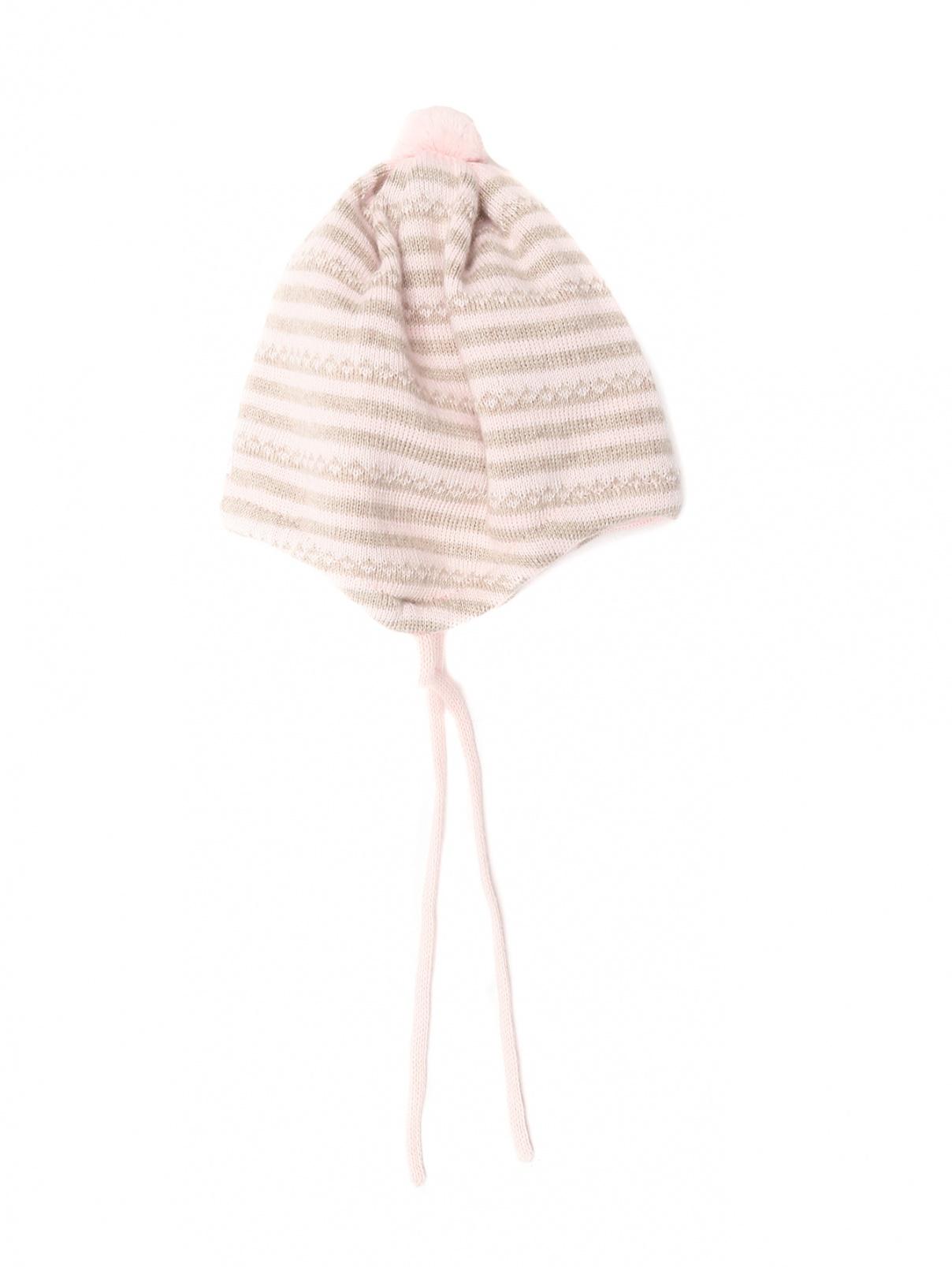 Шапка из шерсти с узором Maximo  –  Общий вид