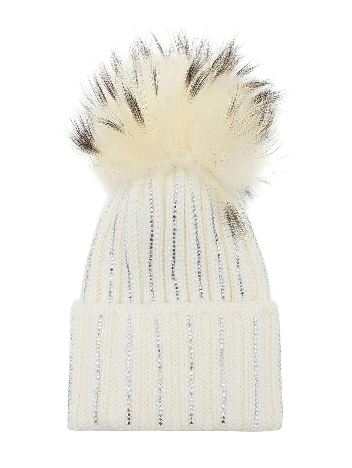 Шапка из шерсти с узором Catya  –  Общий вид