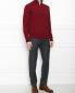 Джемпер из шерсти с молнией и вышивкой Etro  –  МодельОбщийВид