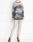Джемпер из шерсти с узором Marina Sport  –  Модель Общий вид