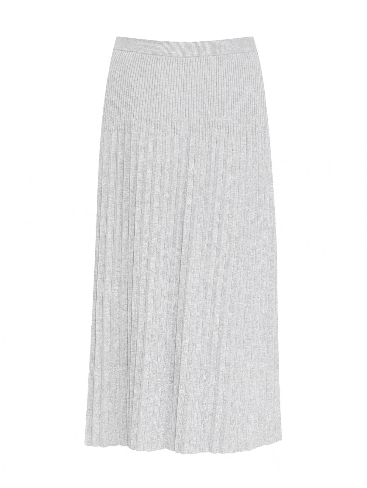 Трикотажная юбка-миди на резинке Michael by Michael Kors  –  Общий вид