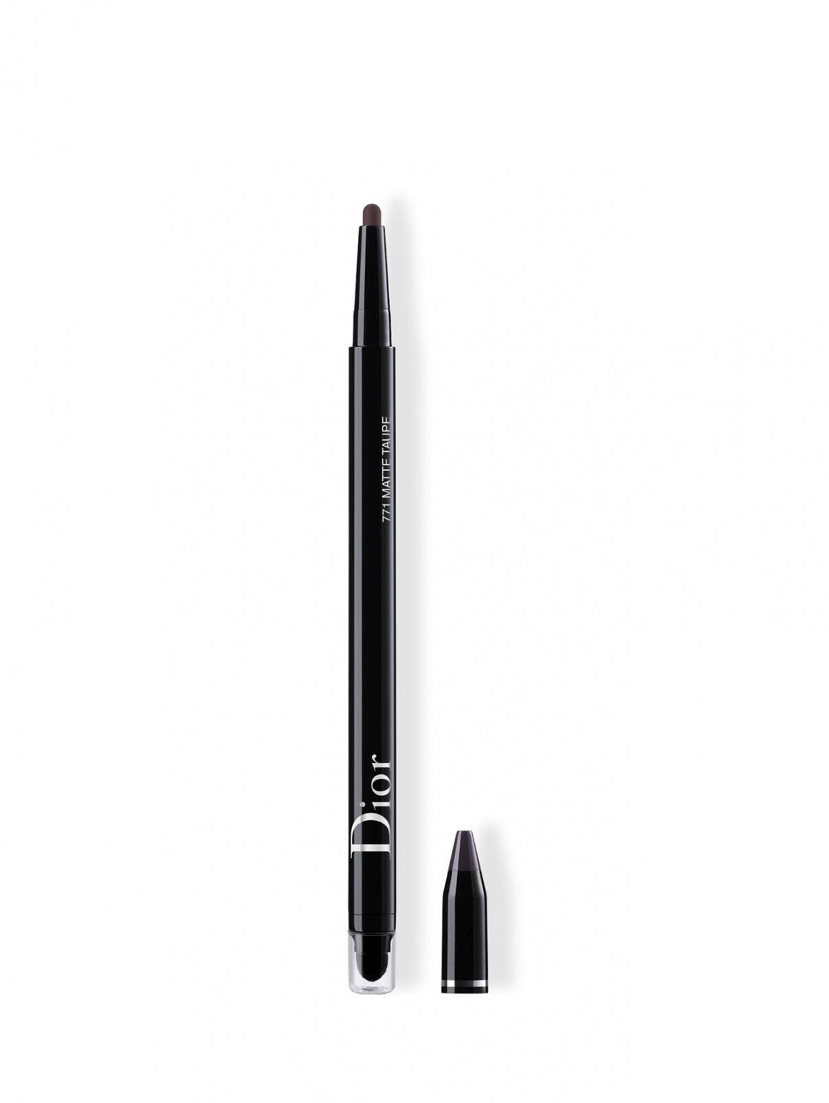 Diorshow 24H Stylo Водостойкая подводка для глаз 771 Матовый серо-коричневый Christian Dior  –  Общий вид