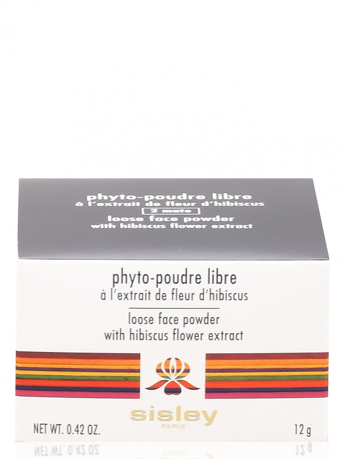 Пудра - №2 mate, Phyto- poudre libre Sisley  –  Модель Общий вид