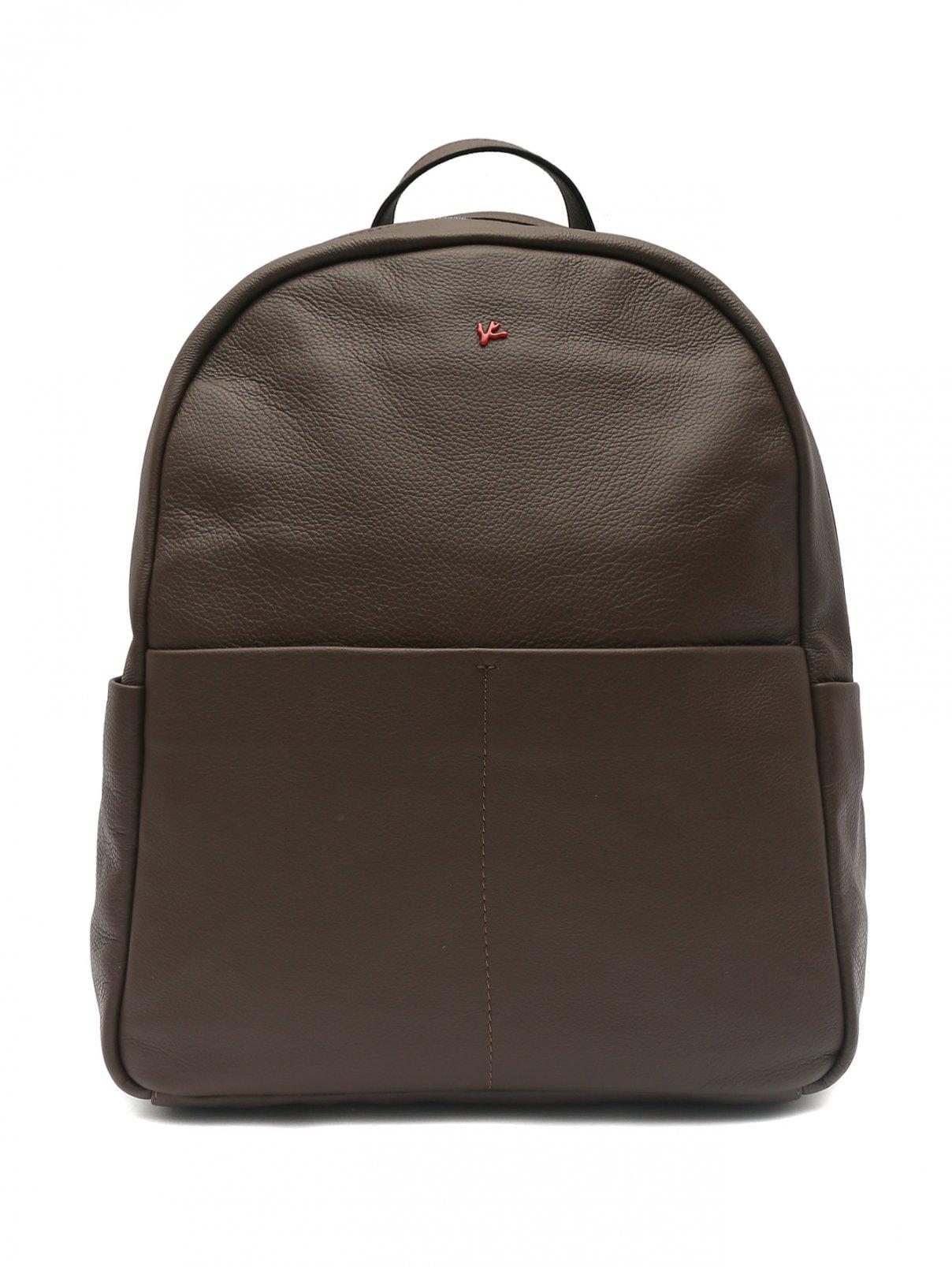 Рюкзак из кожи Isaia  –  Общий вид