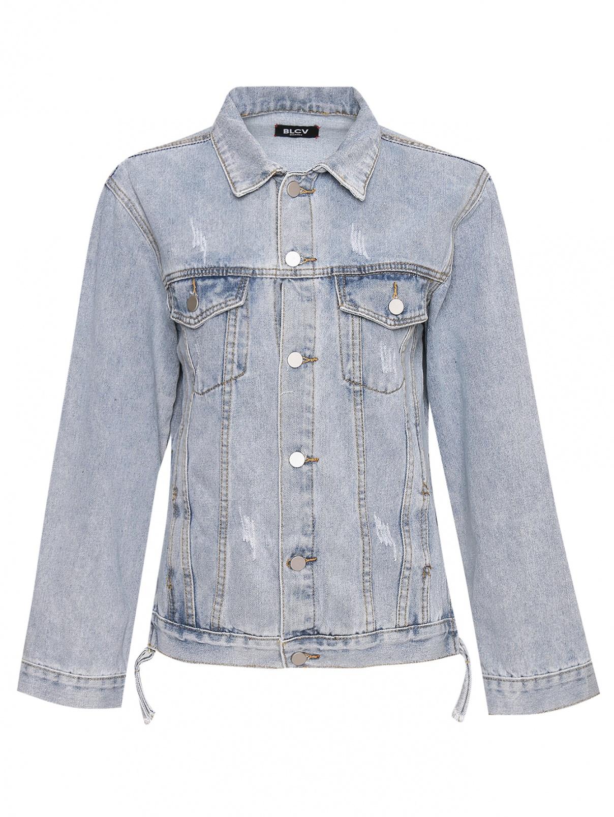 Джинсовая куртка из хлопка BLCV  –  Общий вид
