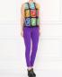 Узкие брюки с молниями во внутренних швах Moschino Boutique  –  Модель Общий вид