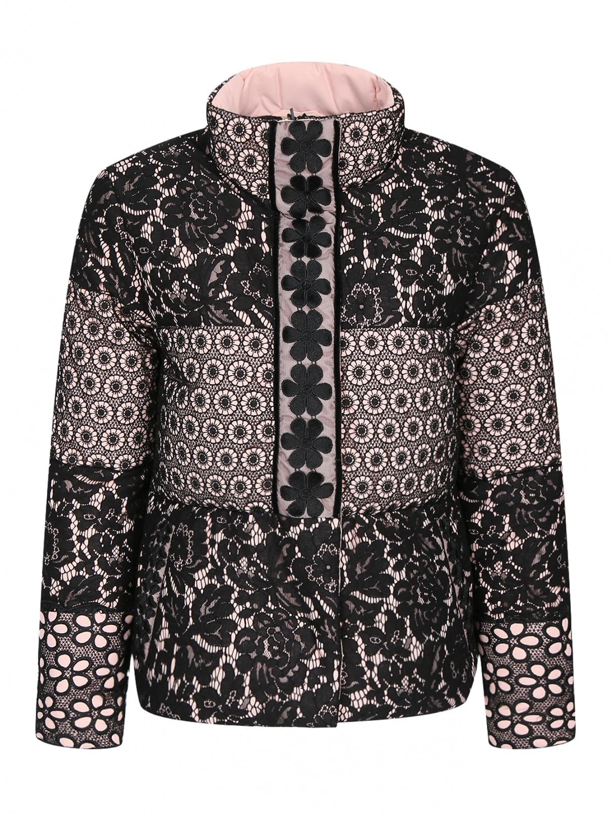 Куртка с кружевным узором Moschino Boutique  –  Общий вид