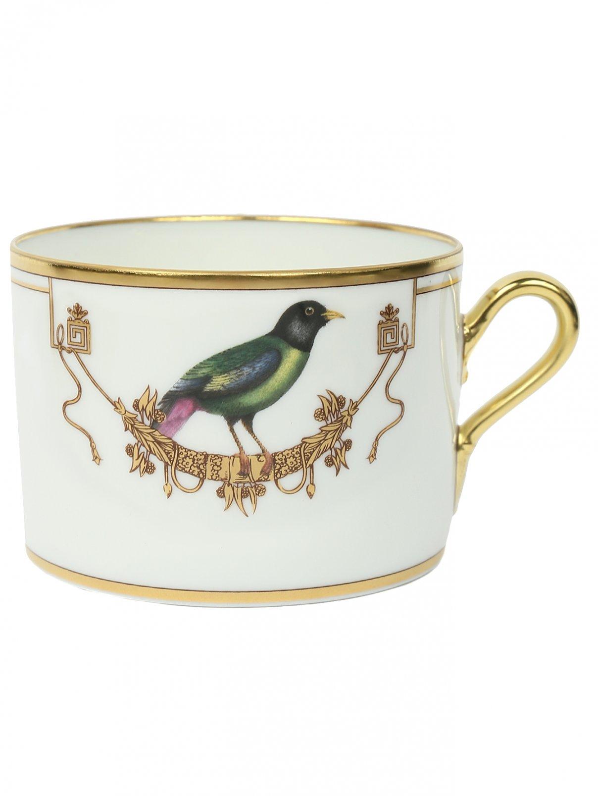 Чашка чайная с узором Richard Ginori 1735  –  Общий вид