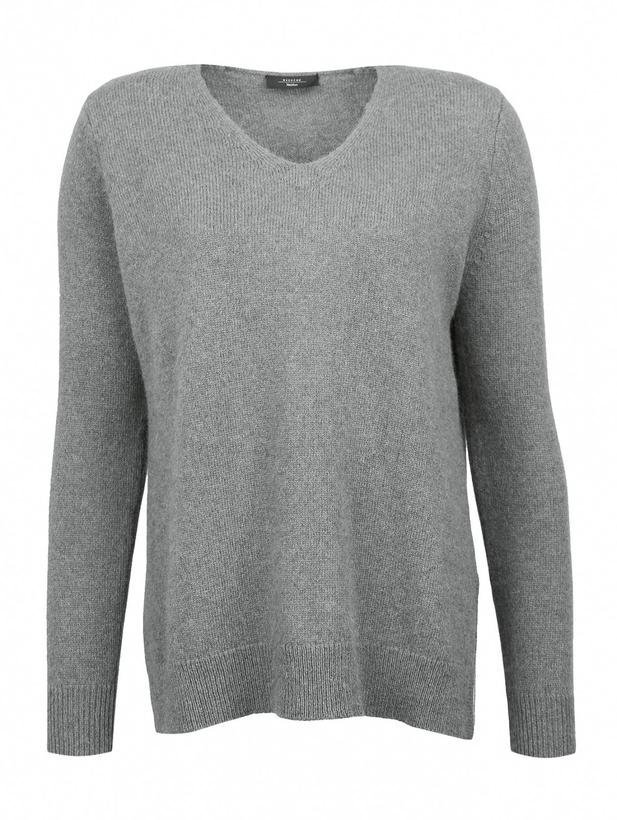 Джемпер из шерсти с V-образным вырезом Weekend Max Mara  –  Общий вид