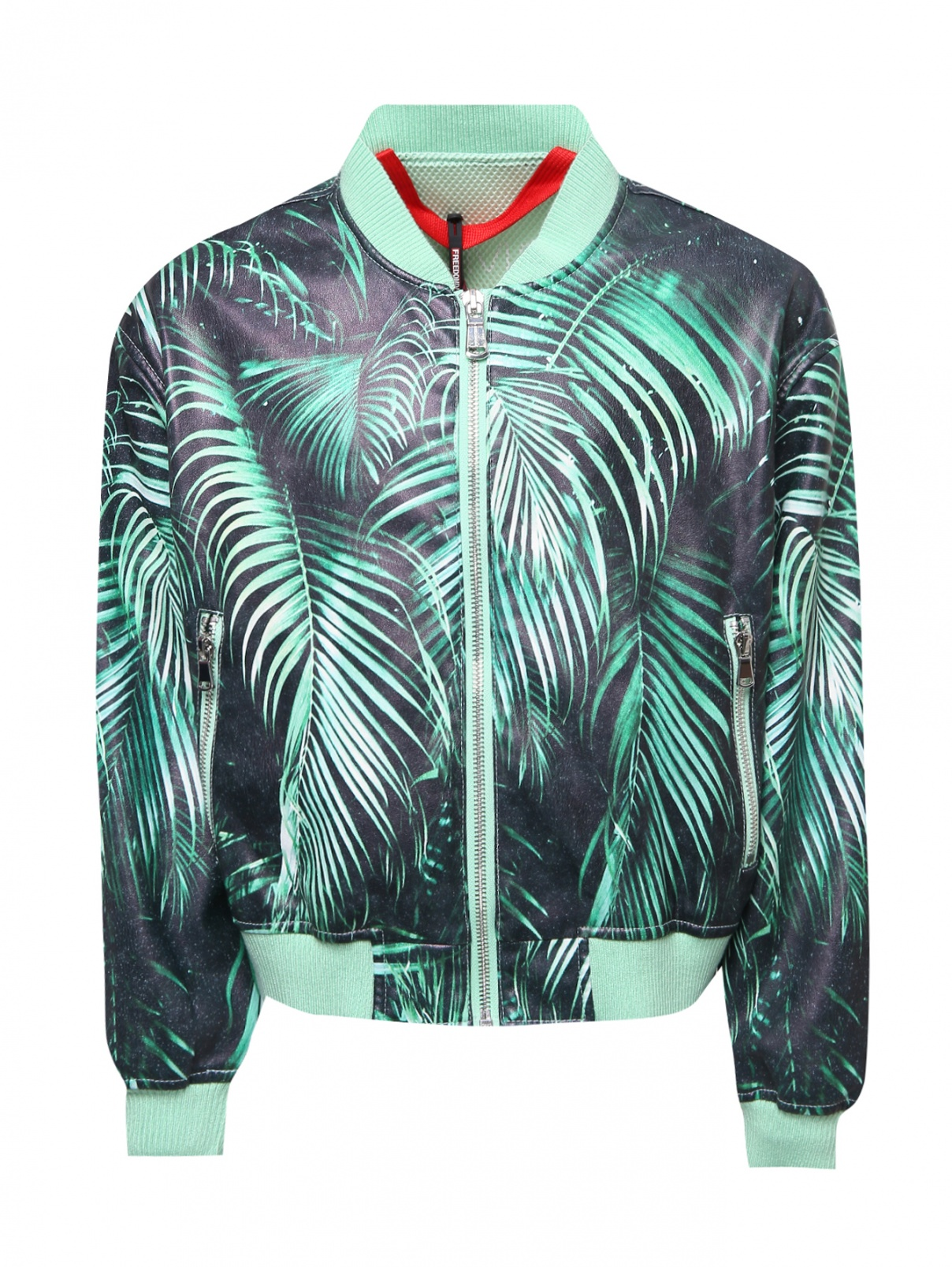 Куртка-бомбер с отлетной кокеткой Freedomday  –  Общий вид
