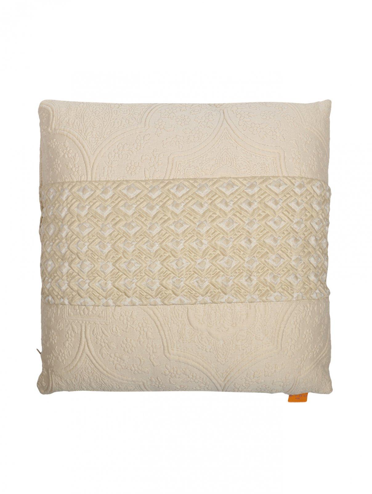 Подушка из текстурной ткани с растительным узором 40 x 40 Etro  –  Общий вид
