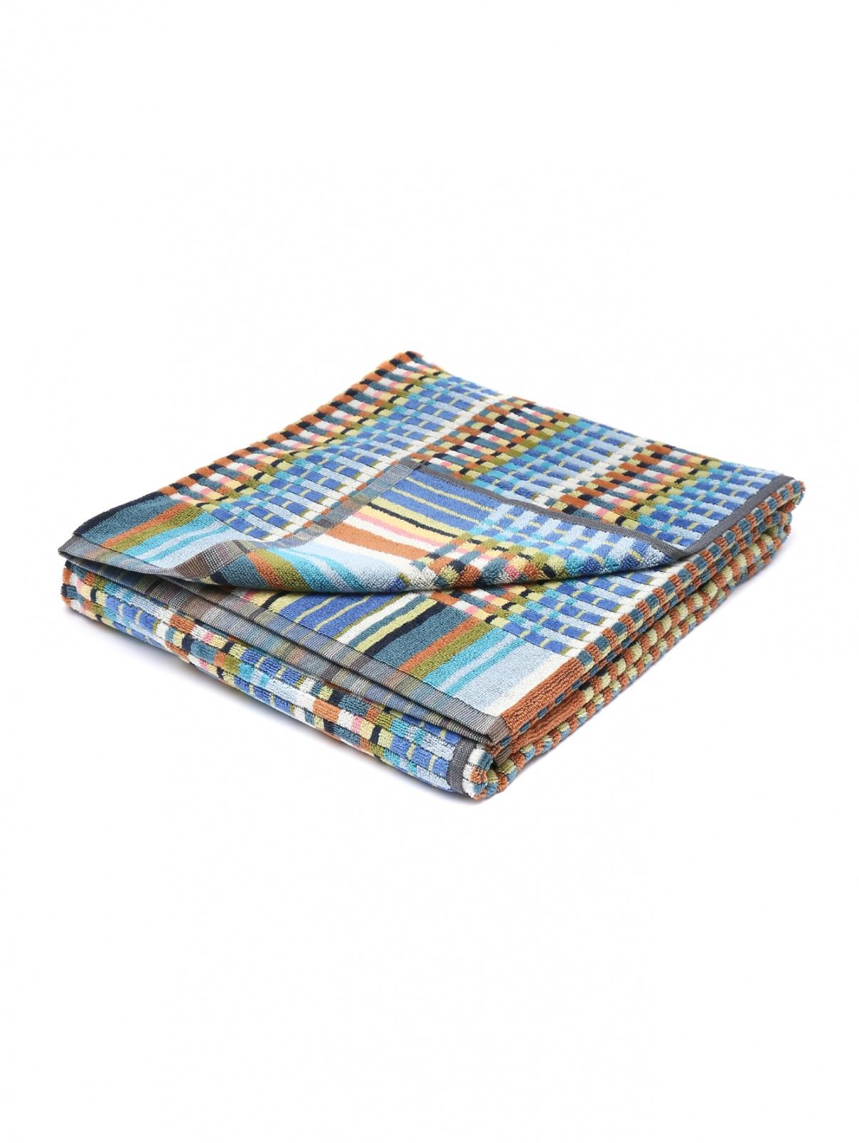 Махровое полотенце из хлопка с узором Missoni  –  Общий вид