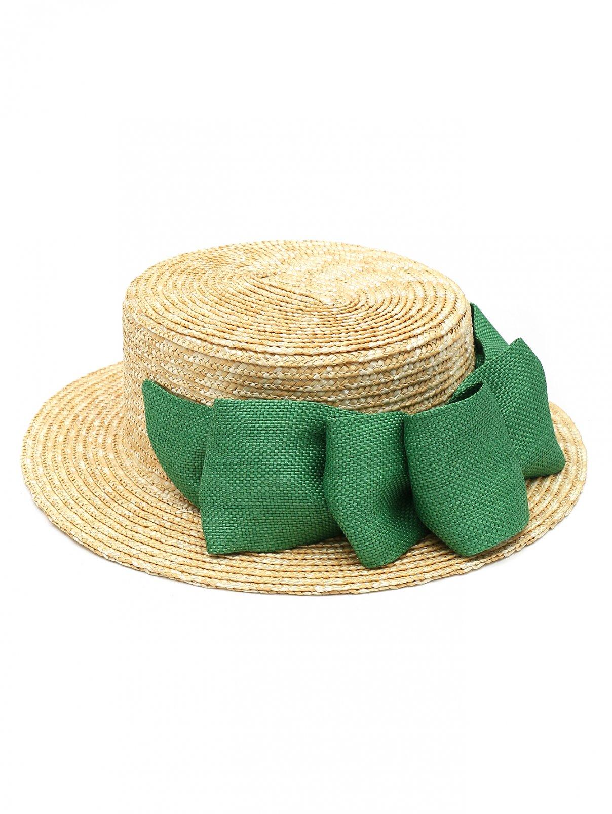 Шляпа соломенная с лентой Mi Mi Sol  –  Общий вид