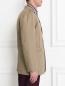 Пиджак однобортный из хлопка Jil Sander  –  Модель Верх-Низ2