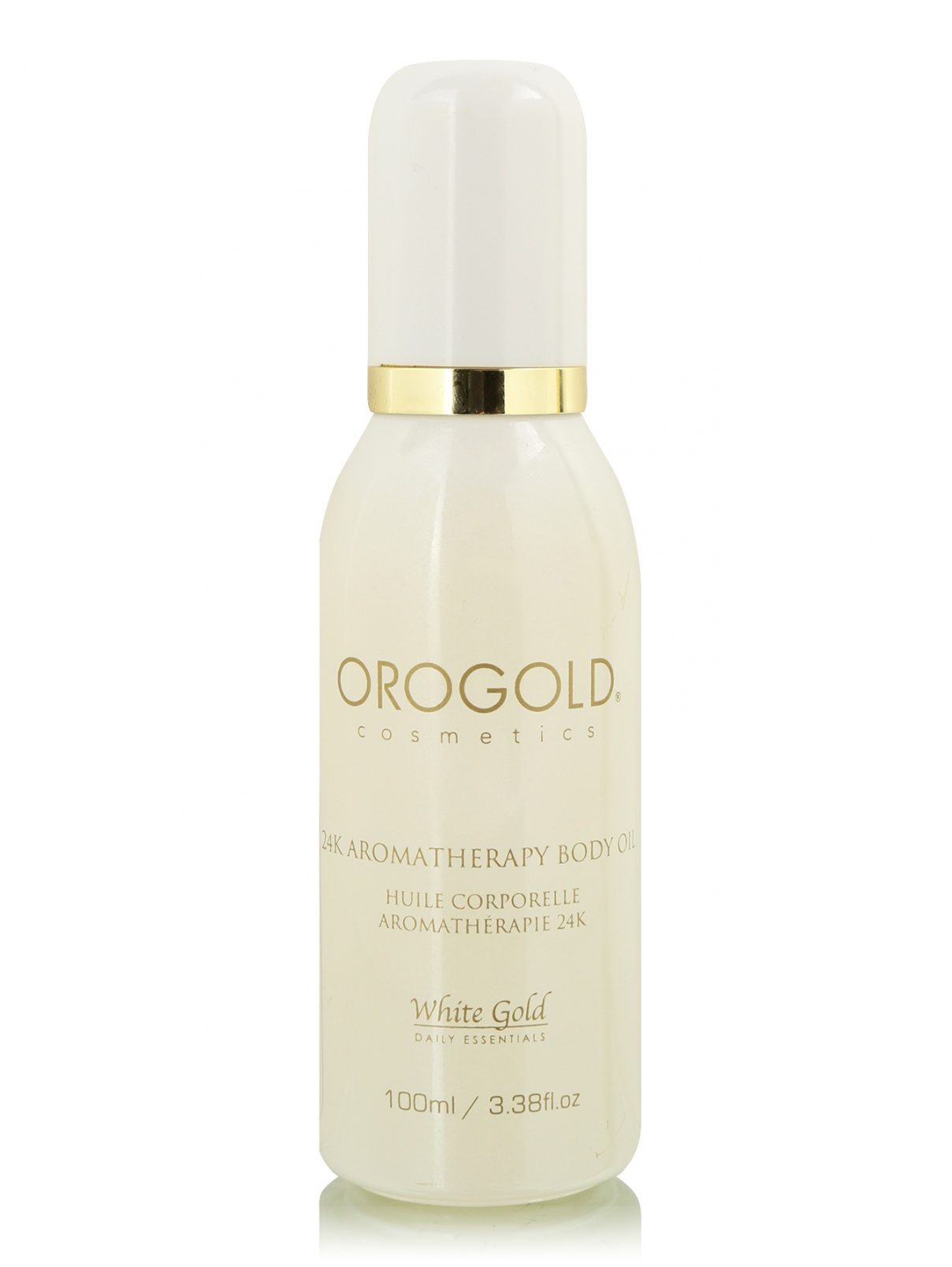Масло для тела - 24K Aromatherapy Oil, 100ml Oro Gold Cosmetics  –  Общий вид