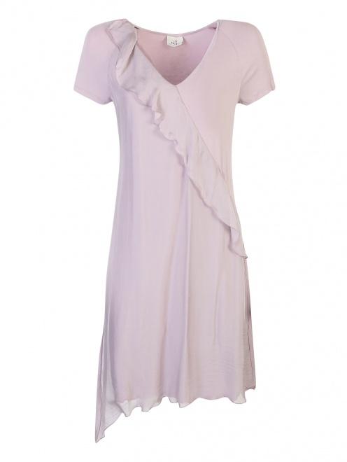 Платье из вискозы асимметричное DEHA - Общий вид