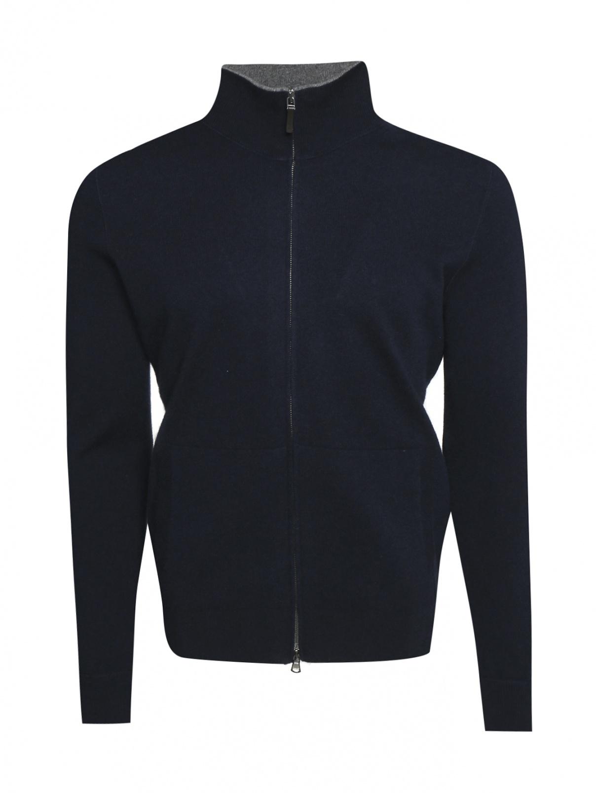 Джемпер из шерсти на молнии Kangra Cashmere  –  Общий вид