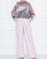 Широкие брюки из шерсти и кашемира Alberta Ferretti  –  МодельОбщийВид