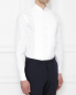 Рубашка из хлопка под запонки Brooks Brothers  –  МодельВерхНиз