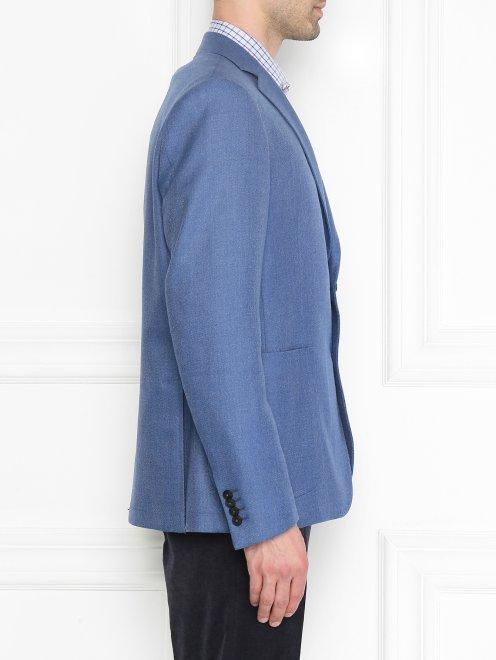 Пиджак из смешанной шерсти  - МодельВерхНиз2