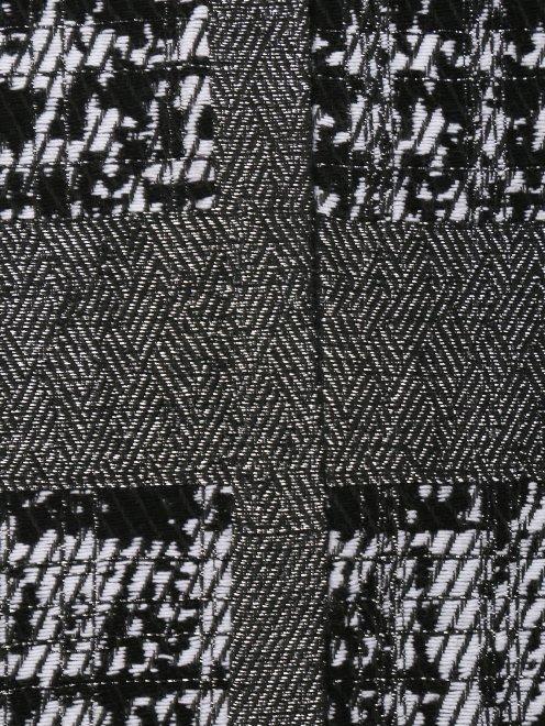 Юбка-мини с боковыми разрезами на клепках - Деталь