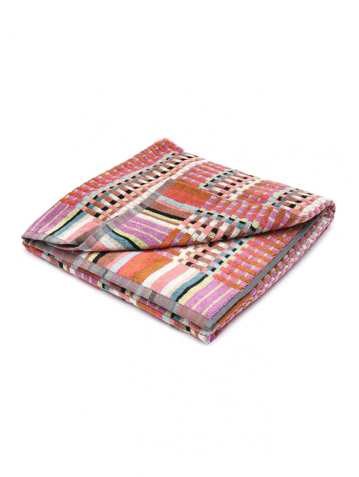 Махровое полотенце с узором Missoni  –  Общий вид