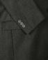 Однобортный пиджак из шерсти Emporio Armani  –  Деталь