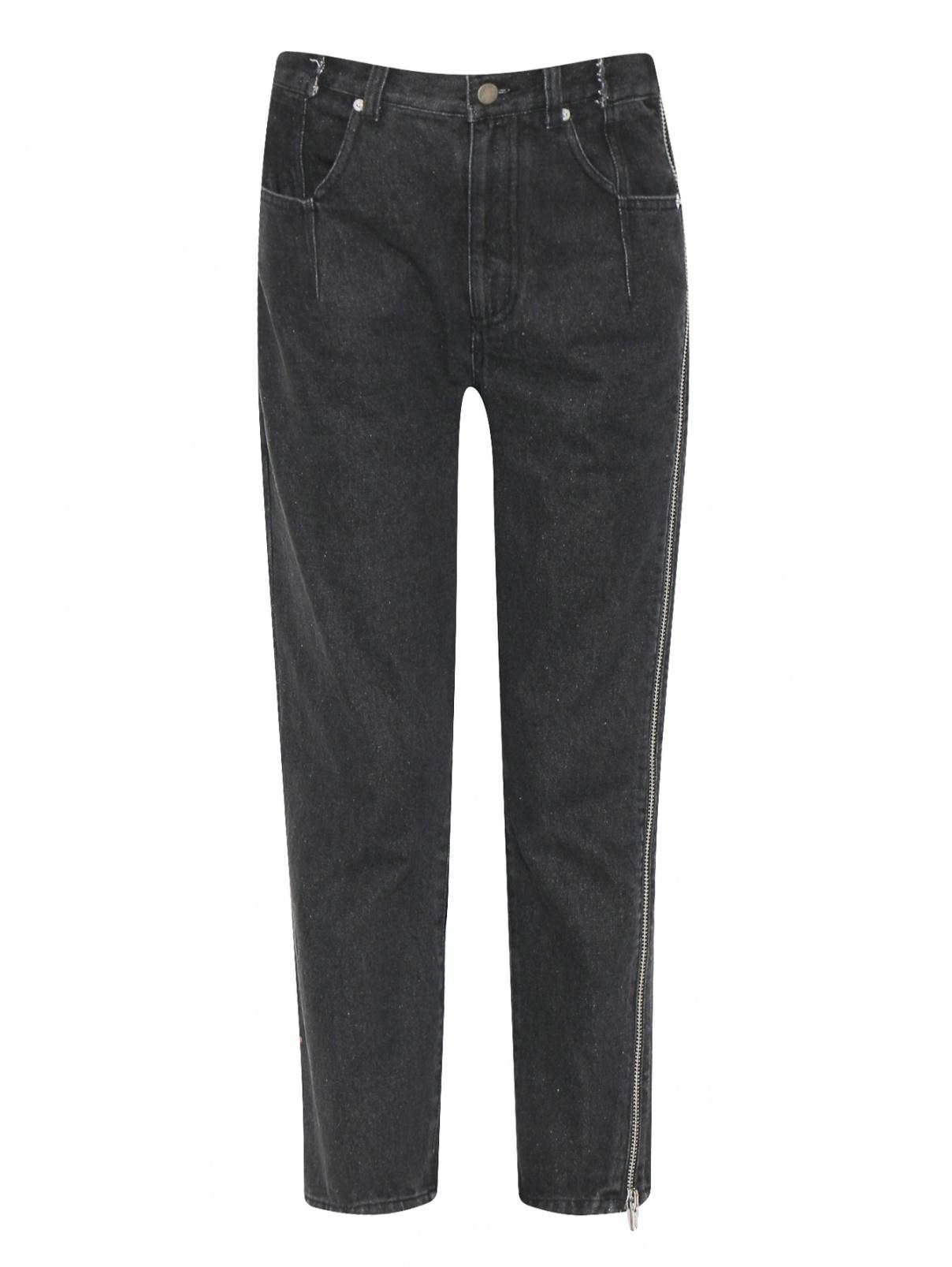 Укороченные джинсы с декоративной молнией 3.1 Phillip Lim  –  Общий вид