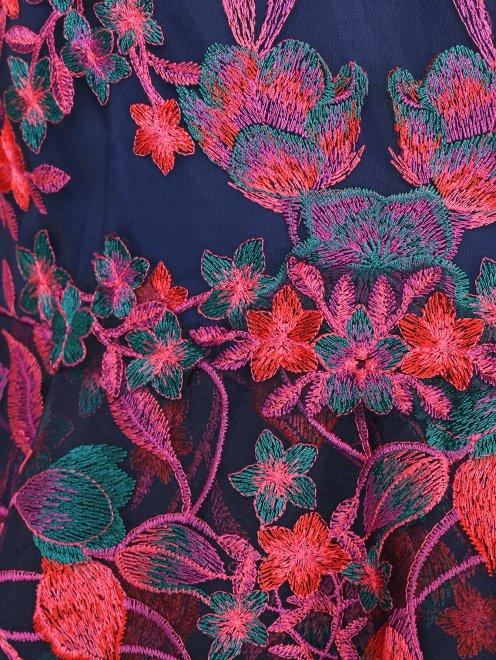 Платье-макси с цветочным узором - Деталь1