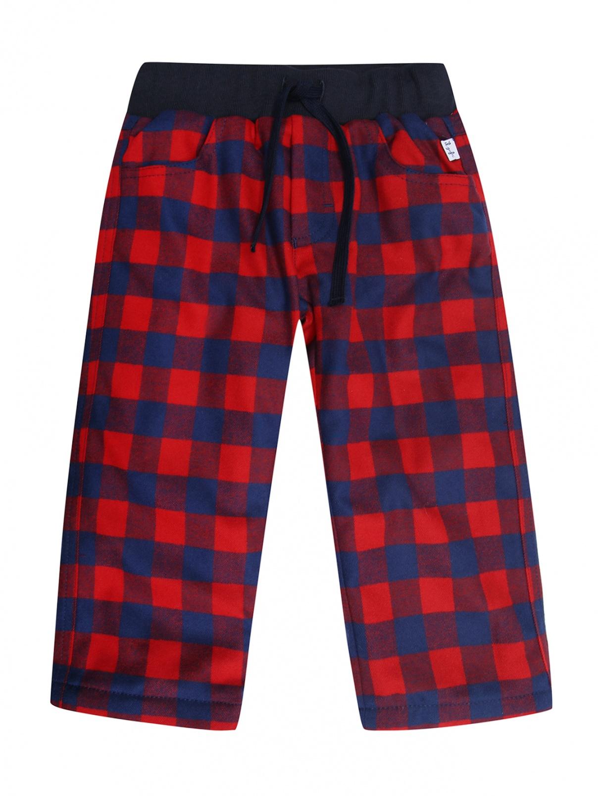 Утепленные брюки с узором Il Gufo  –  Общий вид